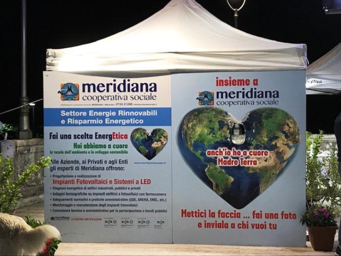 Stand Meridiana Settore Energia Fiera San Giuliano Macerata